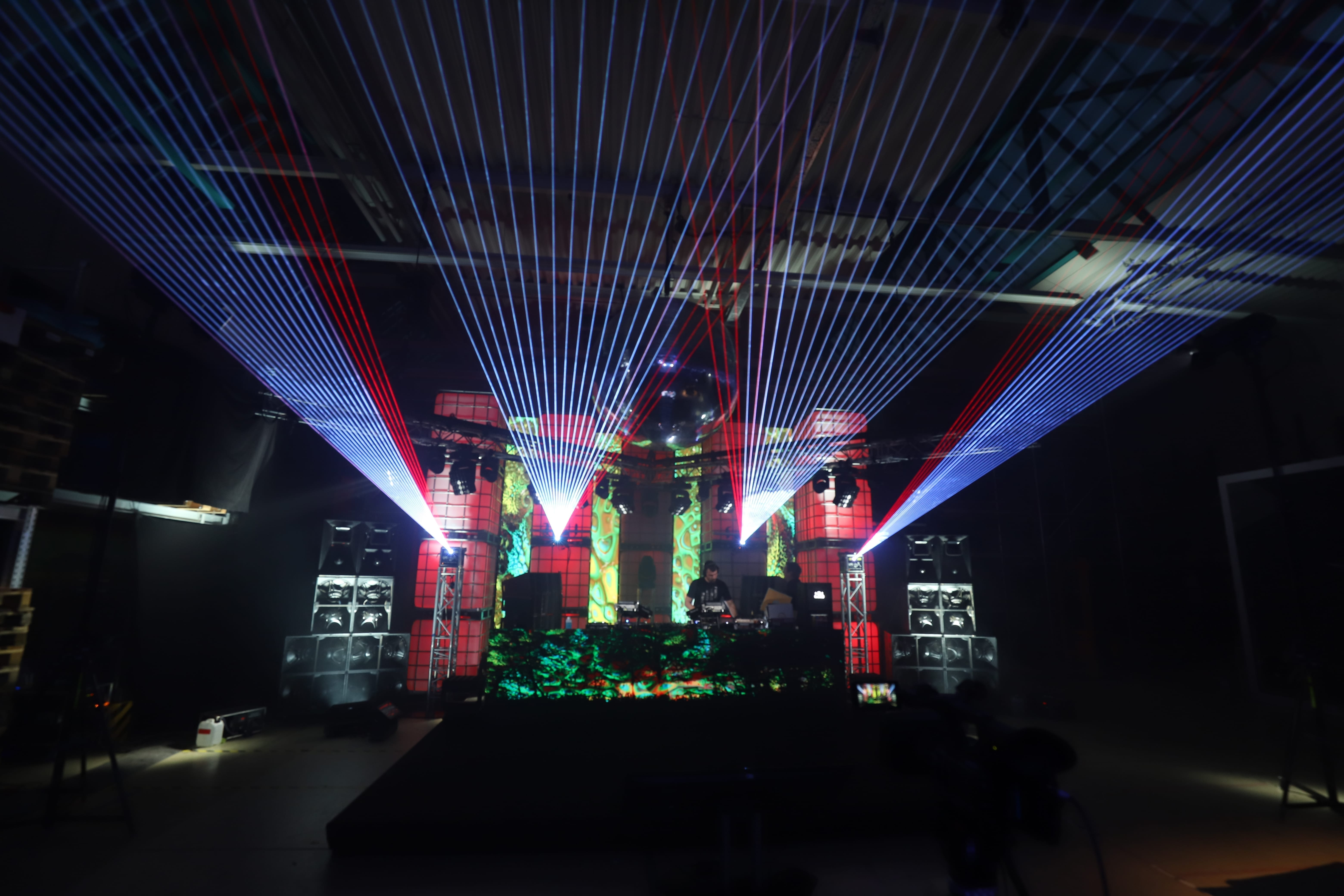Lasershow by B-Musik